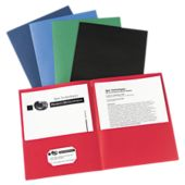 9 x 12 Presentation Folders - Assorted Pack of 25