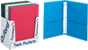 9 x 12 Presentation Folders w/ Brads - Assorted Pack of 50 Assorted
