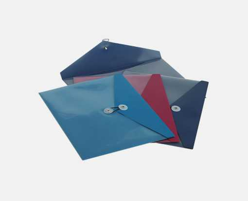 9 1/2 x 11 Poly Button & String Booklet Envelopes Multiple