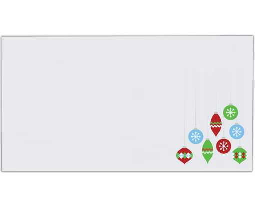 Photo Greeting Card Envelope White - Ornaments