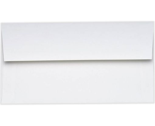 Photo Greeting Invitation Envelopes (4 3/8 x 8 1/4) 70lb. Bright White