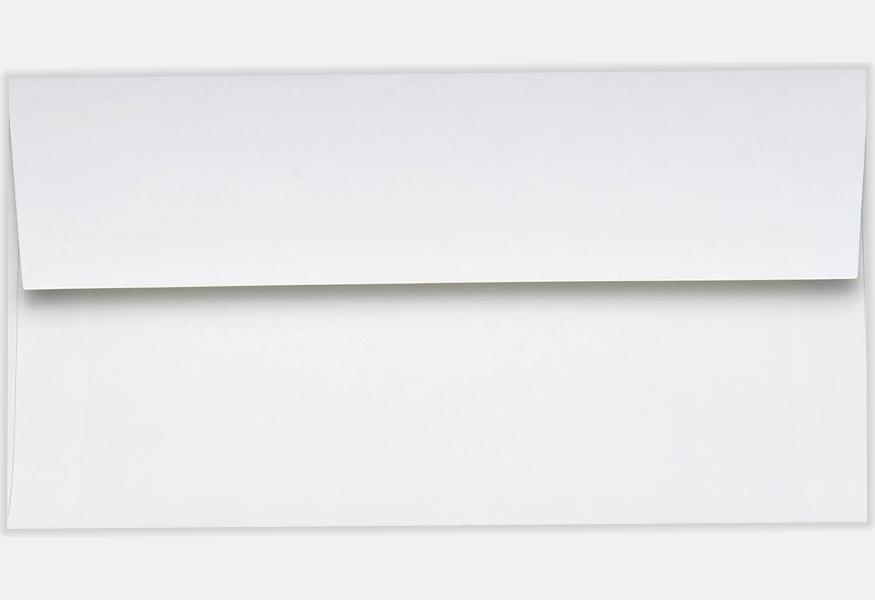 70lb bright white 4 3 8 x 8 1 4 envelopes square flap 4 3 8 x