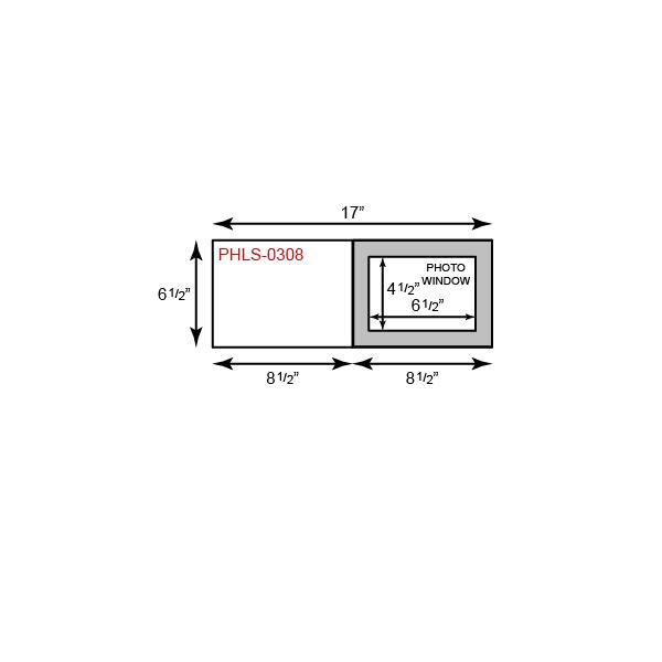"Photo Holder - 5"" x 7"" Landscape Orientation"