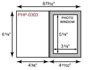 """Photo Holder - 4"""" x 6"""" Portrait Orientation"""