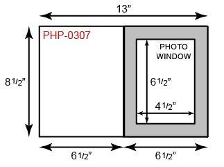 """Photo Holder - 5"""" x 7"""" Portrait Orientation"""
