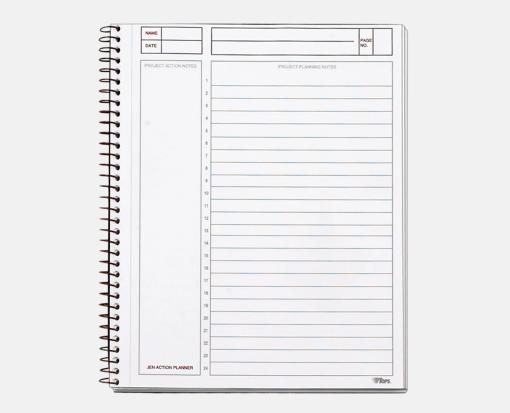 8 1 2 x 6 3 4 jen action planners black envelopes com