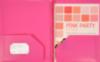 9 x 12 Presentation Poly Folders w/ Brads Pink