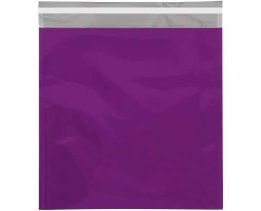 10 3/4 x 13 Metallic Glamour Mailers Purple
