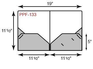 Poly Presentation Folders - Two Pockets w/ Tuck Tab Design