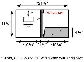Paper Binder - 3 Ring w/ One Pocket & Window