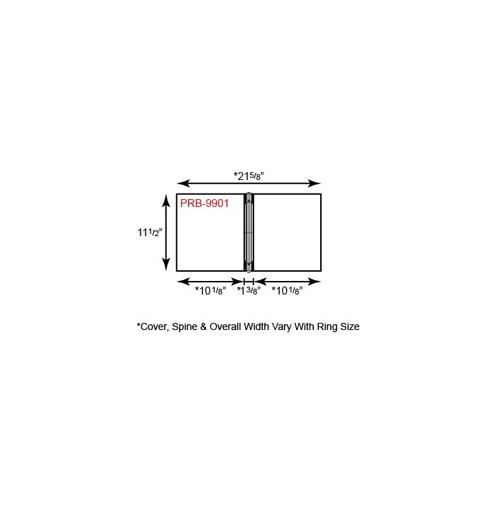 Paper Binder - 3 Ring w/ No Pockets