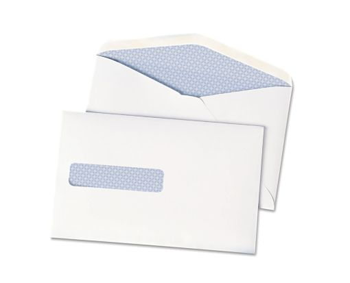 6 x 9 1/2 Postage Saver Window Envelopes 28lb. White