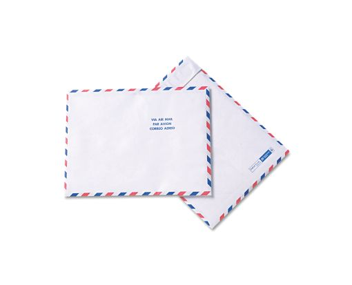10 x 13 Open End Envelopes 14lb. Tyvek, Airmail
