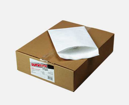 9 x 12 Tyvek Bubble Mailer White
