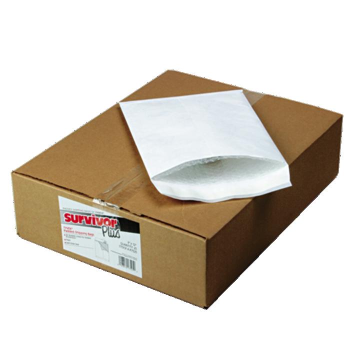9 x 12 Tyvek Bubble Mailer White