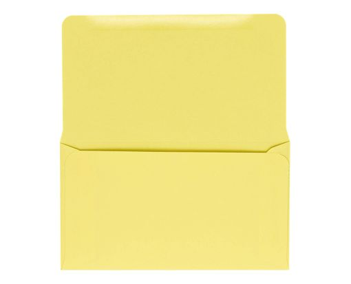 6 3/4 Remittance Envelopes (3 5/8 x 6 1/2) Pastel Canary