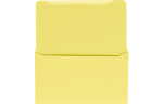 6 3/4 Remittance Envelopes Pastel Canary