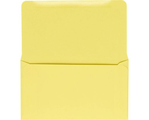 6 1/4 Remittance Envelopes (3 1/2 x 6 Closed) Pastel Canary