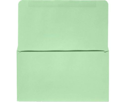 6 1/4 Remittance Envelopes (3 1/2 x 6 Closed) Pastel Green