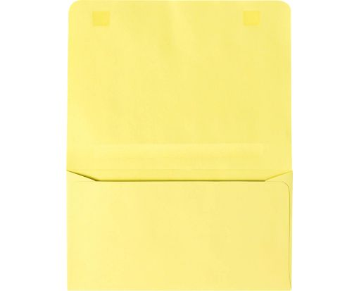 #6 2-Way Envelopes (4 1/4 x 6 1/2 Closed) Pastel Canary