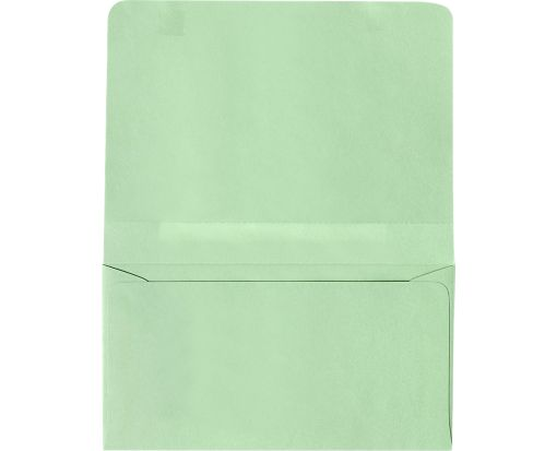 #6 2-Way Envelopes (4 1/4 x 6 1/2 Closed) Pastel Green