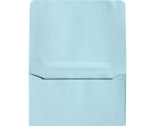 #6 2-Way Envelopes (4 1/4 x 6 1/2 Closed) Pastel Blue