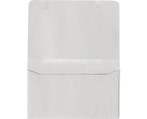 #6 2-Way Envelopes (4 1/4 x 6 1/2 Closed) Pastel Gray