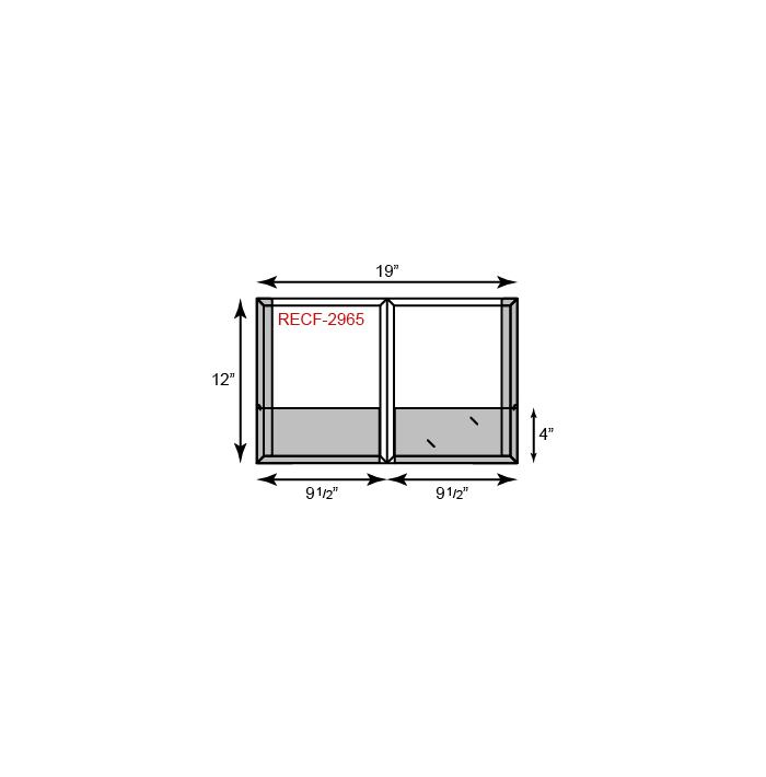 9 1/2 x 12 CONFORMER Folder - Reinforced Edges