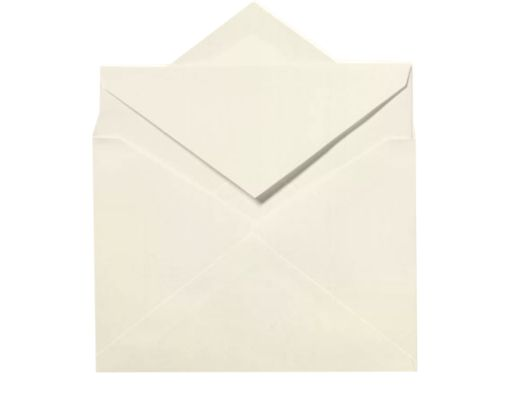 Royal Outer Envelopes (7 3/8 x 7 1/2) Natural White - 100% Cotton