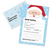 Letter to Santa Kit (9 1/2 x 6 1/4) - Blue