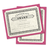 9 1/2 x 12 Single Certificate Holders Magenta