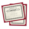 9 1/2 x 12 Single Certificate Holders Garnet