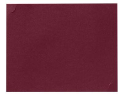9 1/2 x 12 Single Certificate Holders Burgundy Linen