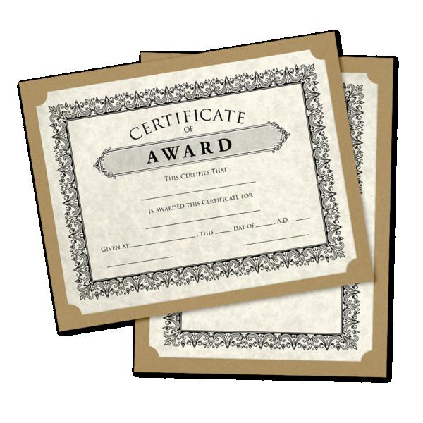 9 1/2 x 12 Single Certificate Holders Grocery Bag