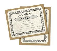 9 1/2 x 12 Single Certificate Holders