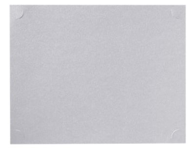 9 1/2 x 12 Single Certificate Holders Silver Metallic