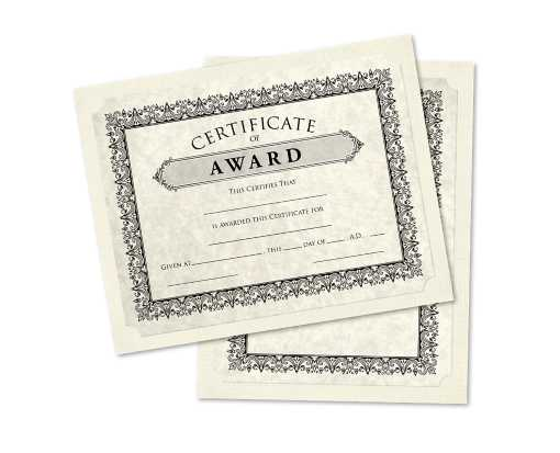 9 1/2 x 12 Single Certificate Holders Natural Linen
