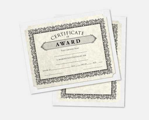 9 1/2 x 12 Single Certificate Holders White Linen