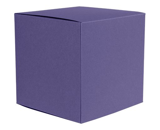 Small Cube Gift Boxes (2 5/32 x 2 1/8 x 2 5/32) Wisteria