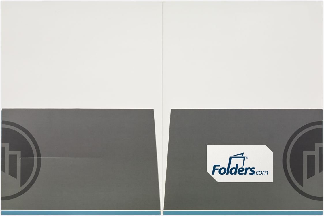 "9 x 12 Presentation Folders - 6"" Tall Pockets"