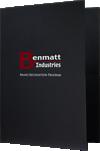 """9 x 12 Presentation Folders - 6"""" Tall Pockets"""