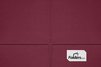 9 x 12 Presentation Folders - Standard Two Pocket