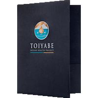 Full-Color 9x12 Landscape Orientation Folder
