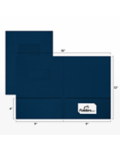 9 x 12 Presentation Folders - Standard Two Pocket w/ Front Cover Window