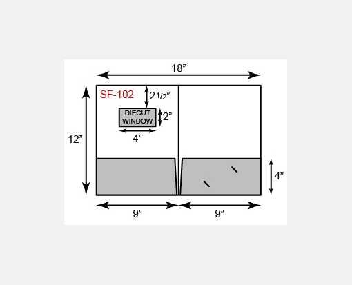9 x 12 presentation folders standard two pocket w front cover