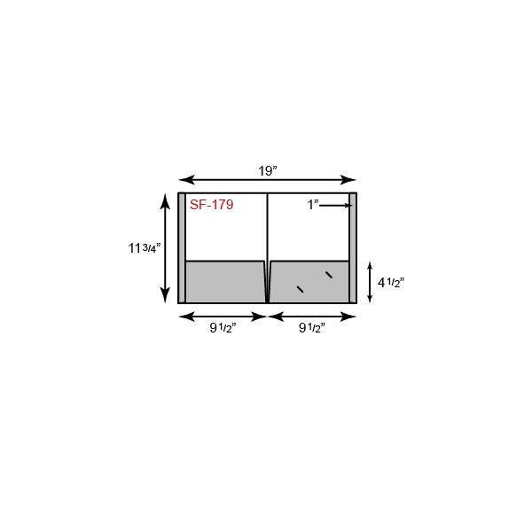 9 1/2 x 11 3/4 Presentation Folders - Reinforced Edges