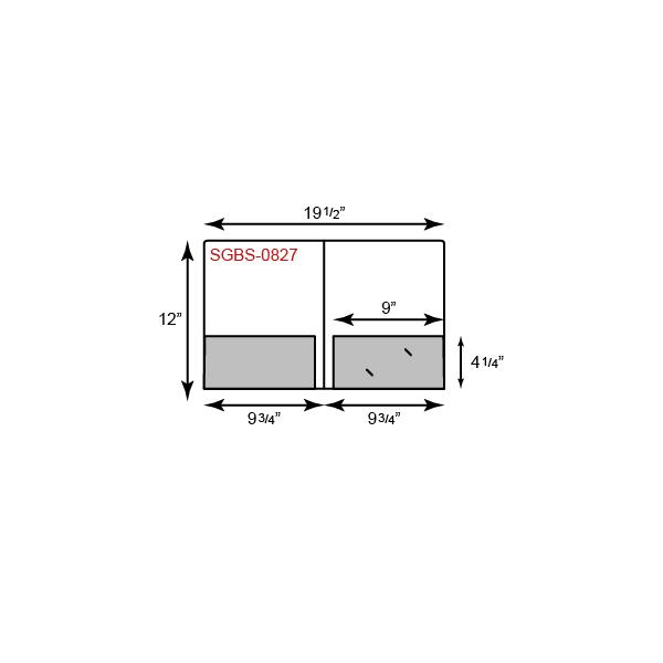 "9 3/4"" x 12 Presentation Folders - Glued Pockets"