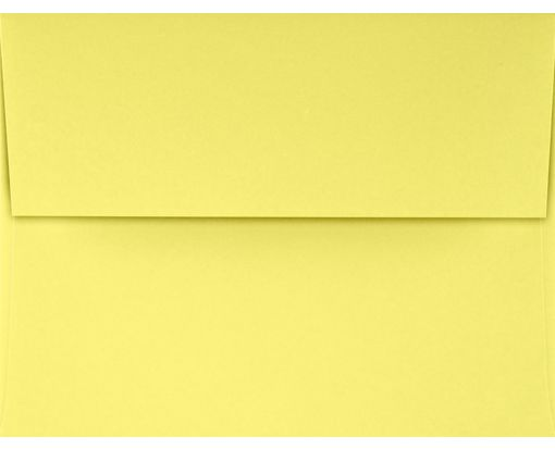 A2 Invitation Envelopes (4 3/8 x 5 3/4) Pastel Canary