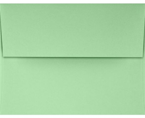 A2 Invitation Envelopes (4 3/8 x 5 3/4) Pastel Green