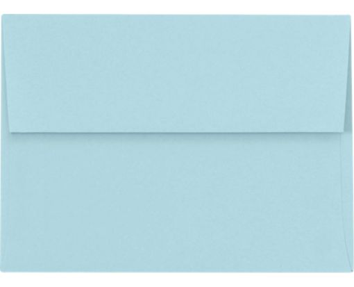 A6 Invitation Envelopes (4 3/4 x 6 1/2) Pastel Blue